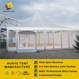 Большой шатер 10X10m Pagoda с стеклянной стеной
