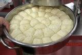 Boulangerie commerciale Diviseuse manuel de la machine (réel) en usine