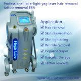 E8a de Multifunctionele IPL rf Machine van de Verwijdering van het Haar van de Laser van Nd YAG