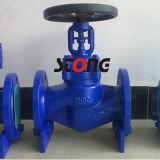 Fuelle DIN el sello de la válvula de globo de acero fundido