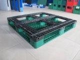 Lytw-1111F perímetro completo reforçado de alta qualidade paletes de plástico com 2000kg de carga do carro elevador
