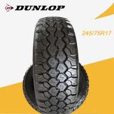 La marca Dunlop 245/75R17 neumático PCR/neumático con la rueda /Rim en Malasia