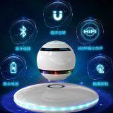 360 rand - Draadloze Spreker van Bluetooth van de correcte LEIDENE van de Controle van de Aanraking de Lichte Omwenteling van de Magnetische Levitatie