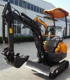 Wy15h Mini-excavatrice chenillée hydraulique Digger fabriqués en Chine