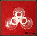 Freier runder unterer Borosilicat-Glas-Kolben mit langem Stutzen