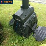 Unicycle eléctrico de equilibrio de la rueda de la vespa una del uno mismo con la maneta