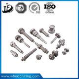 CNCの機械化を用いる金属または錬鉄または鋼鉄鍛造材の部品