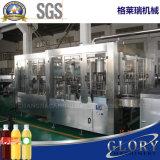 Frasco de plástico em pequena escala máquina de enchimento de sumo