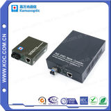 Convertisseur de médias, le prix du convertisseur de support à fibre optique, la fibre optique à convertisseur de supports RJ45 10/100/1000m Sm/mm
