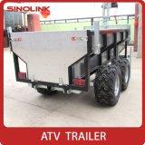 De Houten Vervoerder van de Capaciteit van de Aanhangwagen 1000kg van de Doos van het Brandhout ATV Grote