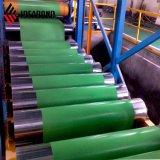 De groene Kleur Met een laag bedekte Rol van het Aluminium (VE-35B)
