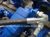 La norme DIN EN 856 quatre fils en acier flexible hydraulique en spirale SAE100 R12