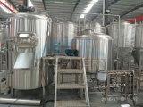 Depósito de sacarificación de 1000L equipo con el equipo de destilación de cerveza Cerveza y el cono fermentador