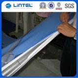 Exhibición curvada vertical del tubo de la tela de la tensión (LT-24)