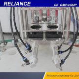 Enchimento líquido do pulverizador plástico do frasco, selagem e máquina tampando