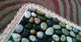판매 혼합 Colore 최신 강 둥근 돌 마루 매트 목욕탕 훈장