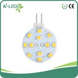 G4 LED 12SMD2835 Disk High CRI DC10-30VAC8-18V