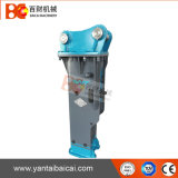 Disjuntor hidráulico da rocha da eficiência elevada para todas as máquinas escavadoras do tipo