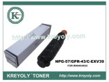 Qualitäts-gute Kompatibilitäts-Toner-Kassette für NPG-57/GPR-43/C-EXV39