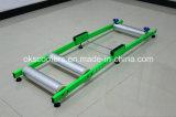 Aluminio del metal de los rodillos del entrenamiento de la bicicleta de Fullsn en rodillo plegable del entrenamiento del ciclo del amaestrador de la bici del rodillo de la bici de la bicicleta de la puerta