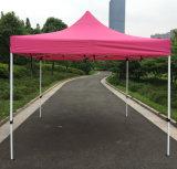전망대 접히는 천막이 3X3m 분홍색 옥외 강철에 의하여 갑자기 나타난다
