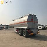 Reboque novo do caminhão de tanque do petroleiro do combustível de petróleo de 3 pneumáticos do eixo 12