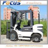 Arrivée neuve 3 tonnes de chariot élévateur avec le pneu solide pour l'usage de cadre de conteneur de camion