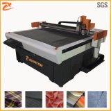 Vestuário de fibras de alta potência com máquina de corte da lâmina CNC 1214