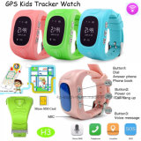 Los niños en varios idiomas Tracker GPS reloj con la posición de triple H3).