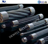 Galv. corde du fil d'acier 6X7+FC