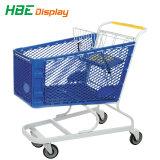 [180ل] بلاستيكيّة مغازة كبرى تسوق حامل متحرّك عربة