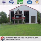 Пакгауз хранения груза стальной структуры легкой установки полуфабрикат