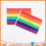 Kundenspezifisches Größen-Polyester-Handmarkierungsfahne