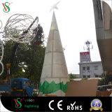 Grosser feenhafter Brunnen 3D für quadratische Weihnachtsdekoration