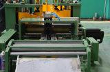 Corte de aço silicioso de posicionamento centralizado para linha de comprimento