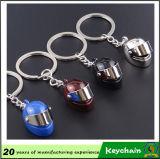 Шлем мотоцикла цепочки ключей