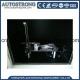 IEC60695 strumento di laboratorio Needle Flame Materiale masterizzazione Tester