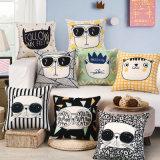 Descuento personalizada ropa de algodón grueso colchón fundas de sofá lanzar Funda de almohada