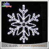 Lumière de corde de flocon de neige décoratif en plein air