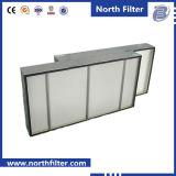 H10~H14 mini filtro dalla piega HEPA per stanza pulita