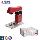 De Laser die van de vezel Machine met Roterende het Merken Emblemen voor Ronde Pijpen/Ringen/Kettingen merken