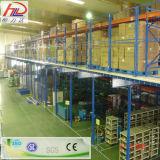 Défilement ligne par ligne en acier de mémoire de mezzanine d'entrepôt