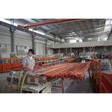 Conduit de PVC reforzado barrer las curvas de color naranja de 90 grados