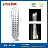 46PCS recargable SMD LED Luz de emergencia