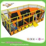 Berufsinnenkind-Trampoline-Bett mit Sicherheits-Gehäuse
