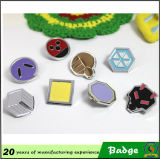 Anime giapponese Pocket Metal Badges per Clothes