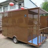 新しい食糧は移動式食糧トラックの食糧販売のカートを運ぶ