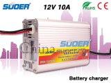 Производство Suoer Intelligent 12V 10A Автоматическая автомобиля зарядное устройство с маркировкой CE (МА-1210A)