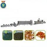 애완 동물 또는 개 또는 고양이 또는 물고기 공급 공정 라인 또는 압출기 기계 또는 기계장치
