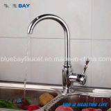 Taraud de mélangeur en laiton de Hot&Cold de robinet de bassin de cuisine